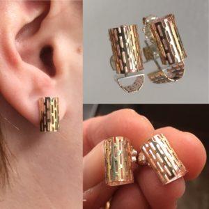 13_52. Earring Challenge, Jewelry, Jewelry smith, Jewelry making, danaca design, jewelry classes, jewelry smithing, gallery, Danaca Design Gallery, jewelry gallery