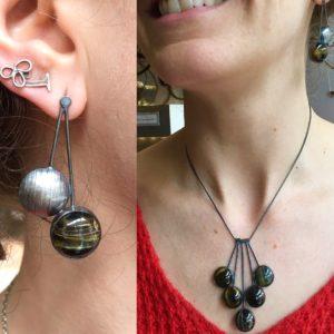 16_52 with Necklace, Earring Challenge, Jewelry, Jewelry smith, Jewelry making, danaca design, jewelry classes, jewelry smithing, gallery, Danaca Design Gallery, jewelry gallery