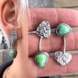17_52, Earring Challenge, Jewelry, Jewelry smith, Jewelry making, danaca design, jewelry classes, jewelry smithing, gallery, Danaca Design Gallery, jewelry gallery