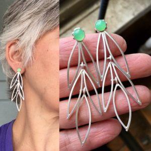 22_18, Earring Challenge, Jewelry, Jewelry smith, Jewelry making, danaca design, jewelry classes, jewelry smithing, gallery, Danaca Design Gallery, jewelry gallery