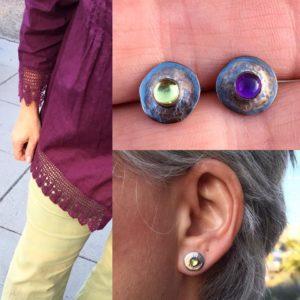 35_52, Earring Challenge, Jewelry, Jewelry smith, Jewelry making, danaca design, jewelry classes, jewelry smithing, gallery, Danaca Design Gallery, jewelry gallery
