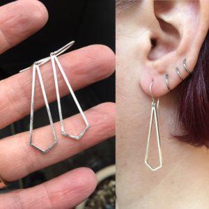 46_52, Earring Challenge, Jewelry, Jewelry smith, Jewelry making, danaca design, jewelry classes, jewelry smithing, gallery, Danaca Design Gallery, jewelry gallery