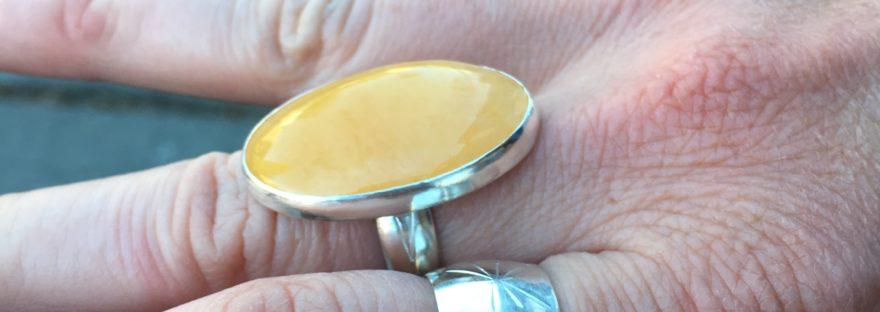 Rings, student work, Beginning Jewelry Series: Rings