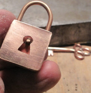 Brass lock, , Richard Salley, Clasps, Hinges, and Mechanisms