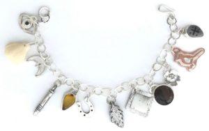 Rachel De Nys - Symbols That Ward Off Evil - Charm Bracelet Challenge 2019