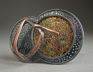 Enamel piece by Keith Lewis