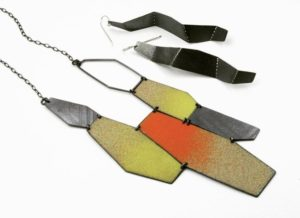 Necklace and Earrings, Jane Pellicciotto