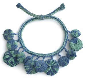 Jill Green - Woven Basketry - Charm Bracelet Challenge 2019