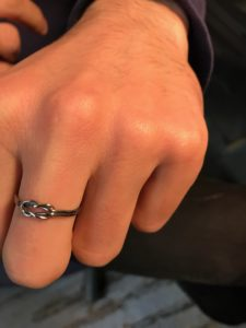 Knot ring Jewelry Making Basics with Wire