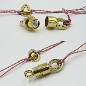Barbara Magana Box, paper, brass box, necklace, locket