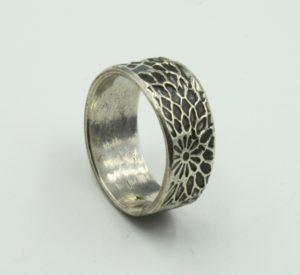 Polymer clay ring, Precious Metal Clay Basics I