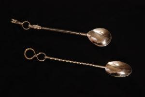 Sterling spoons, Bill Dawson