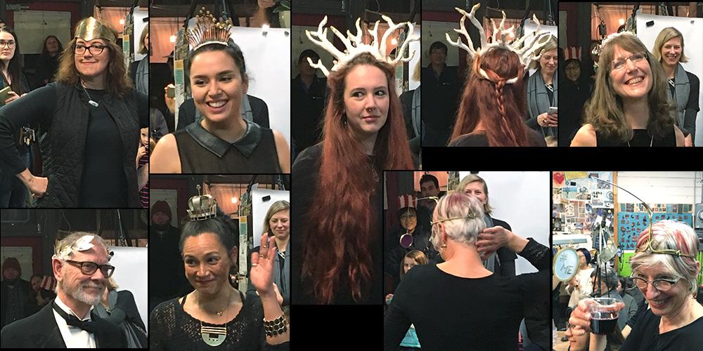 Crowning Glory Tiara Collage