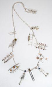 Virginia Causey - Ladders - Charm Bracelet Challenge 2019
