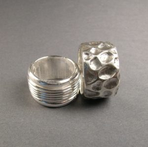 Wax carved and cast rings,Wax Working for Jewelers