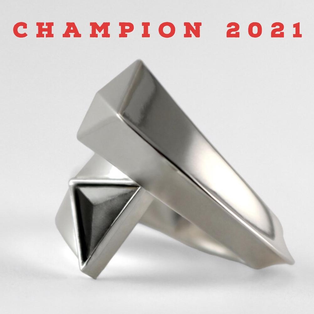 Battle of the Rings Champion 2021 Artemis Ring Roozbeh Rastegar